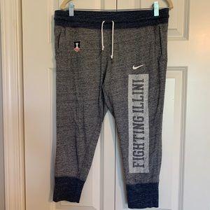 Nike Fighting Illini cropped pants